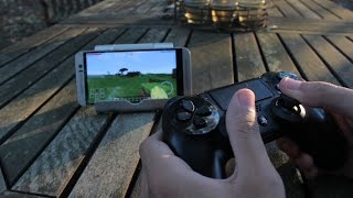 How to Connect your PS4 controller to your Phone/Tablet (ANDROID AND iOS) (EASY METHOD)
