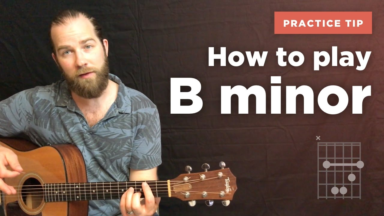 How to play the B minor chord on guitar Chords - Chordify
