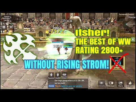 The Best of Wind Walker all SEA Servers (Itsher, Rating 2800+) on Ladder PVP | Dragon Nest M SEA