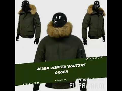 Heren winterjassen met bont from YouTube · Duration:  7 seconds