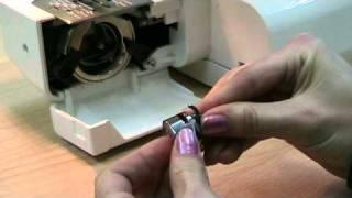 Порядок заправки нити в швейной машине .mpg