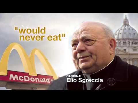 Vatican McDonalds (CBS News)