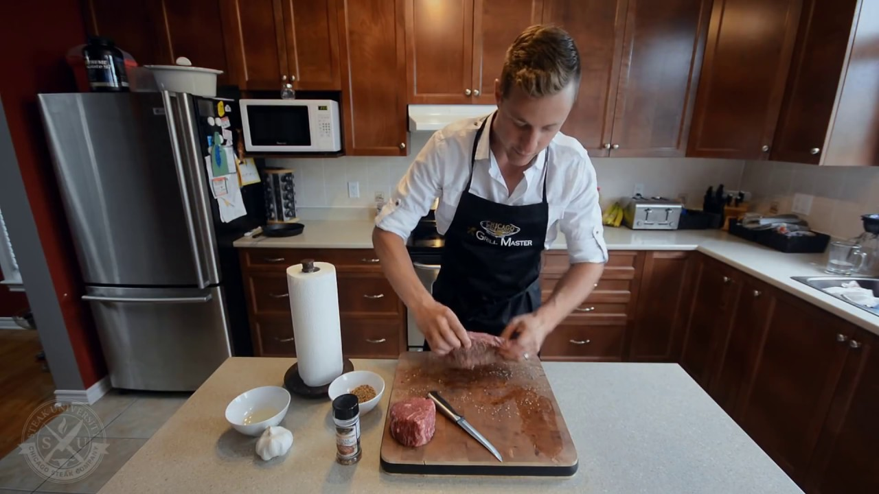 Steak University  How To Pan Fry A Steak & Cook A Baked Potato