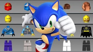 LEGO Juniors Create & Cruise vs LEGO Sonic Unleashed Full Gameplay HD!