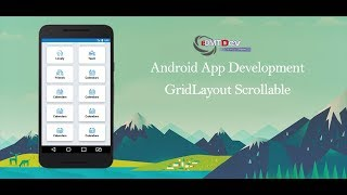 Android Studio Tutorial - Grid Layout Scrollable and Click to new Activity edmt dev