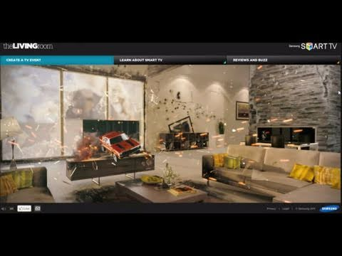 The living room campaign from samsung smart tv youtube for Samsung smart tv living room