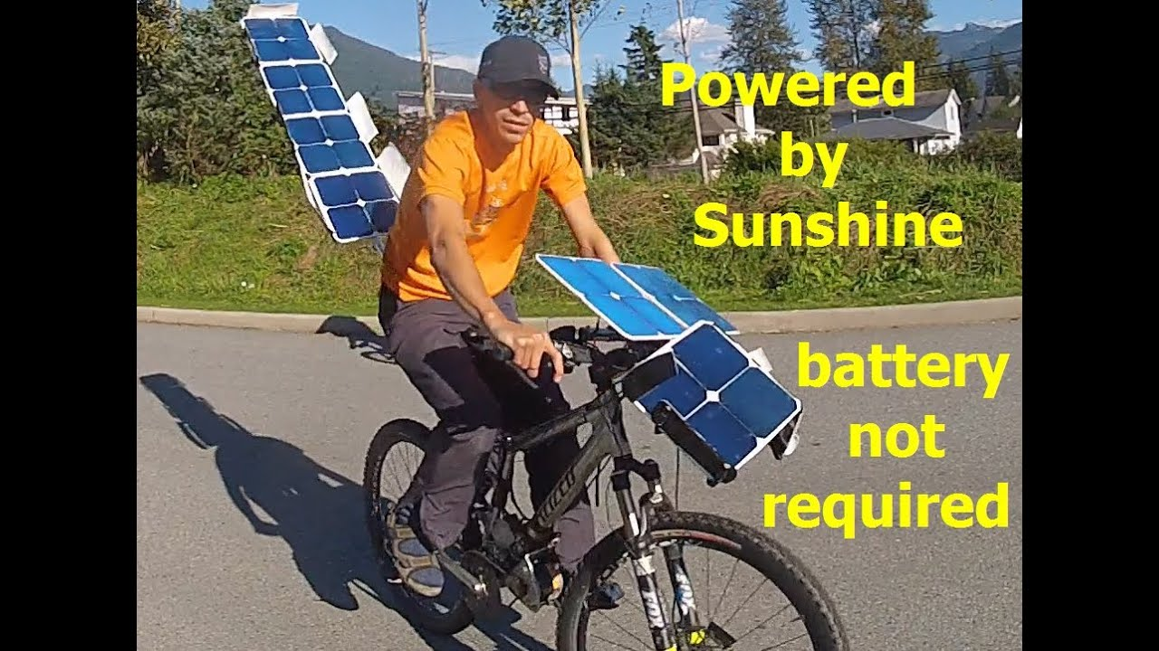 Wind And Solar Powered Electric Car