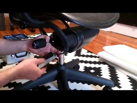 Aeron chair tilt repair