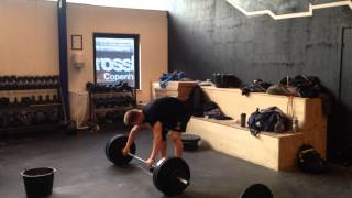 "Snatch: 75 x 2 reps by Philip ""The Gift"" Thun Bisgaard"