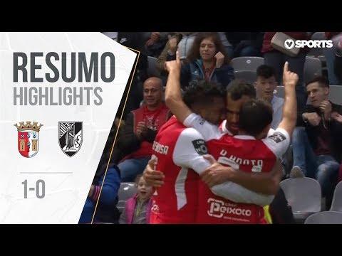 Highlights | Resumo: Sp. Braga 1-0 Vitória SC (Liga 18/19 #25)