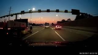 Road Rage Brake Check Crash