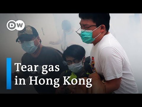 Hong Kong protesters rally against China's planned security law   DW News
