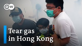 Hong Kong protesters rally against China's planned security law | DW News