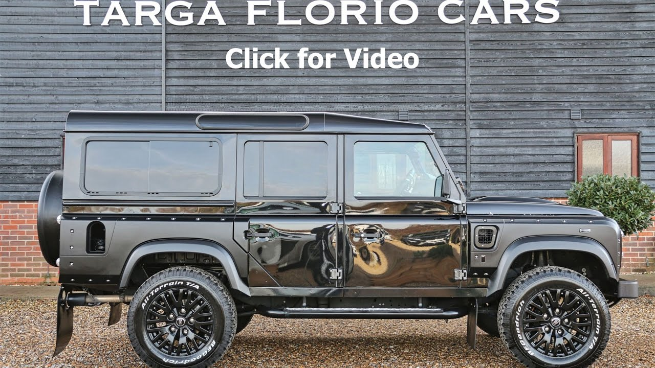 Kahn Design Land Rover Defender 110 6 2 V8 LS3 Engine and LS2 Automatic  Gearbox