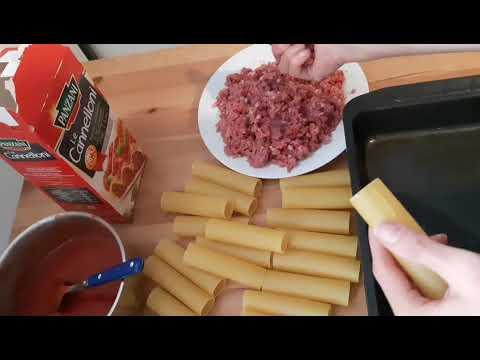 recette-de-cannellonis-sauce-tomate-viande-hachée