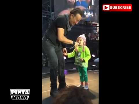 Bruce Springsteen's Oslo gigand adorable little girl was the star.