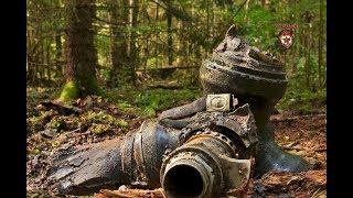 Копаем место падения самолёта люфтваффе Digging The Crash Site Of The Luftwaffe