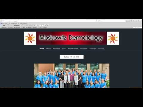 Moskowitz Dermatology First Video Snapshot