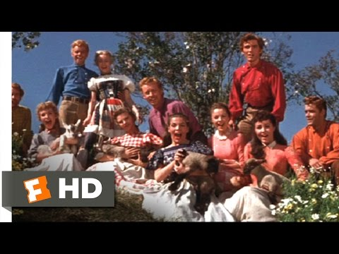 Seven Brides for Seven Brothers 910 Movie CLIP  Spring, Spring, Spring 1954 HD