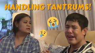 Handling Tantrums | CANDY & QUENTIN | OUR SPECIAL LOVE