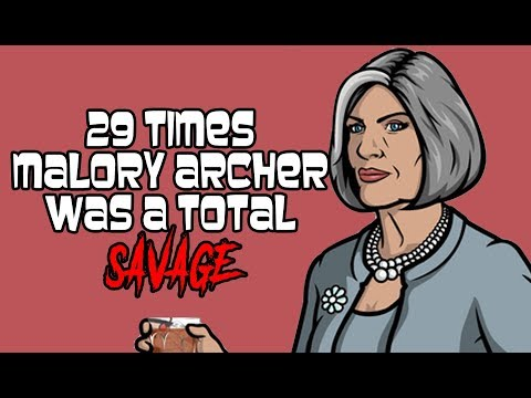 29 Times Malory Archer Was A Total Savage