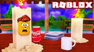 A candle saves my life! - Roblox