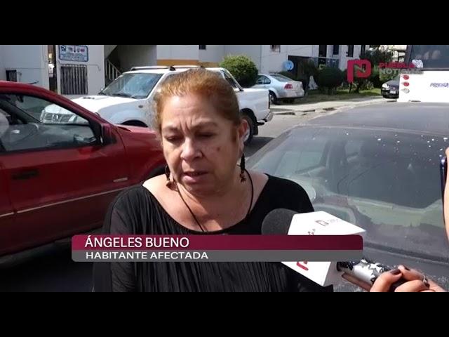 #PueblaNoticias Unidades Habitacionales de la Volkswagen se quedan sin agua.