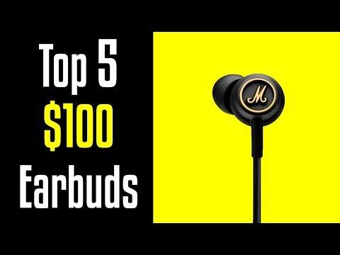 🔻2018: Top 5 Best Earbud Headphones Under $100🔺[4K]