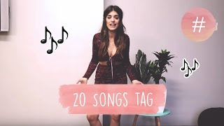 20 songs tag dulceida