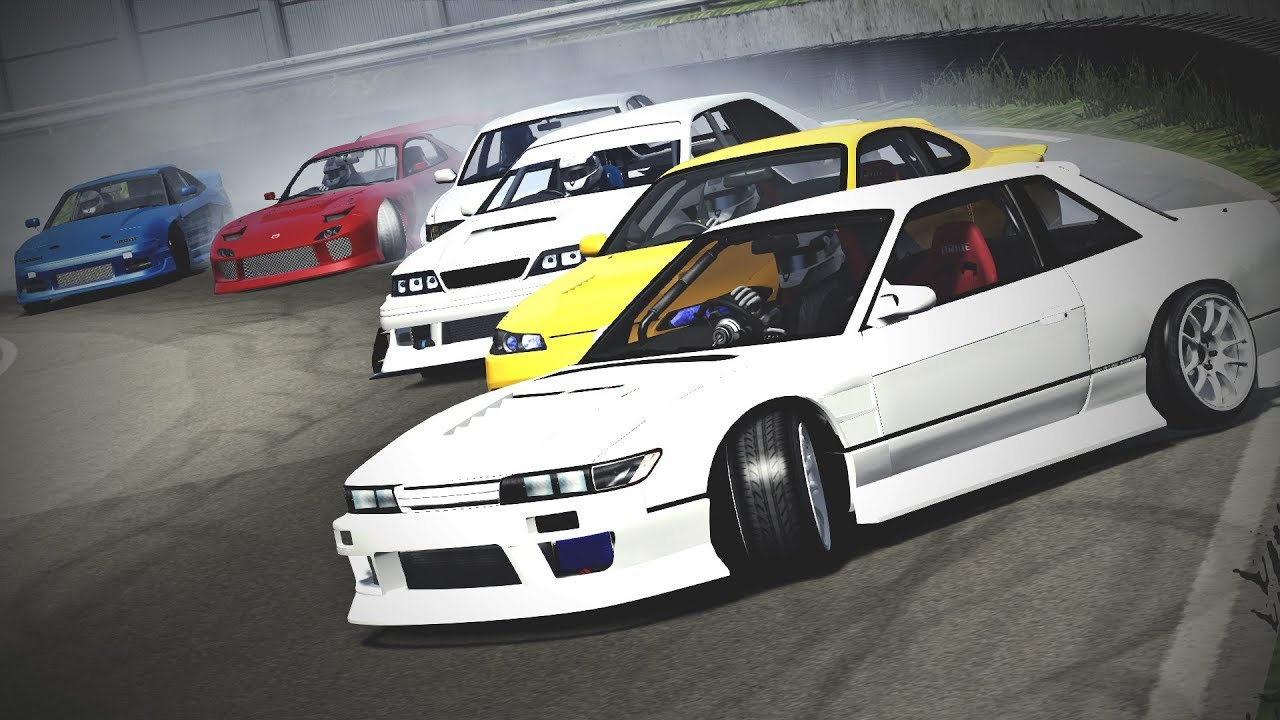 Assetto Corsa - Kamikaze Work's Drift Mod