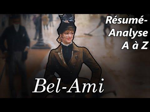Maupassant, Bel-Ami - Résumé analyse de l'oeuvre complète
