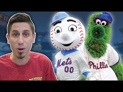 MLB Mascots Quiz - Can You Name Every Mascot? - Baseball Quiz