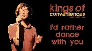 Kings Of Convenience I D Rather Danse With You Live At Le Bataclan