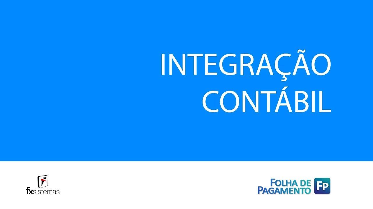Fx Sistemas Tutorial Integração Folha De Pagamento X