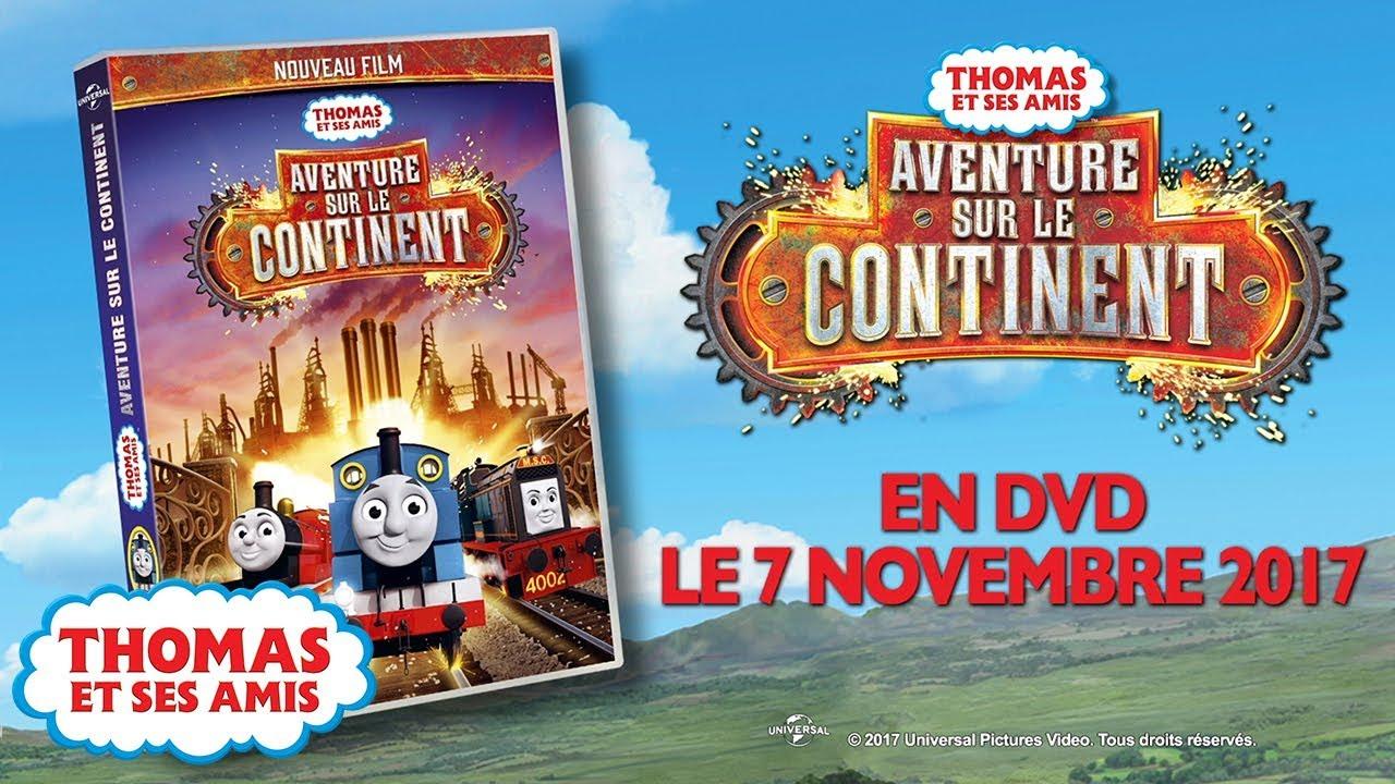 Thomas et ses amis en fran ais aventure sur le continent youtube - Thomas et ses amis dessin anime ...