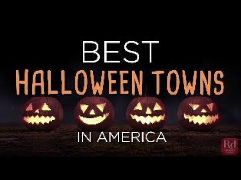 Best Halloween Towns in America