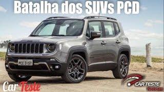 Nissan Kicks PCD 2020 Vs Jeep Renegade PCD 2020 Vs Hyundai Creta PCD 2020: Comparativo !!!