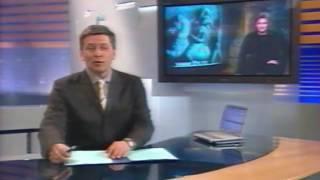 Ляп ТВ: Дибров ошибся именем ведущего новостей! (Ночное Время, ОРТ/Первый канал, 2003)