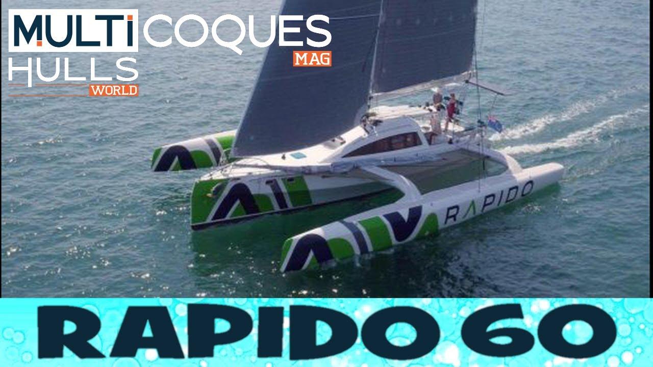 Trimaran Rapido 60 - Teaser Multicoques Mag - Multihulls World