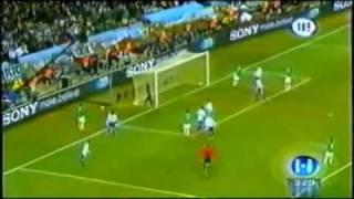 México vs Argentina (Sudafrica 2010).