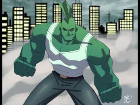 theme of Savage Dragon