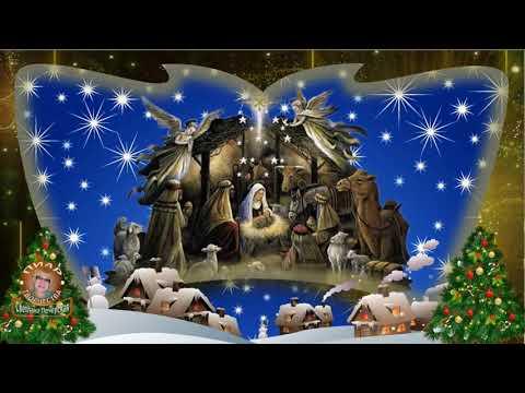 Сказочно красивое музыкальное поздравление с Рождеством Христовым - Видео приколы смотреть
