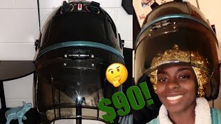 I BOUGHT A $90 HOODED HAIR DRYER FOR MY NATURAL HAIR ☺️!