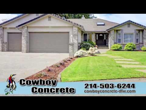 Cowboy Concrete | Patio, Foundation, Slab, Paving, Retaining Walls & Safe Rooms | Dallas, TX