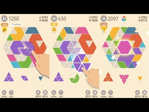 Make Hexa Puzzle Android Gameplay - 동영상