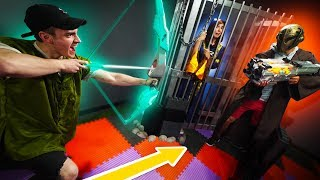 NERF Dungeons & Dragons Save the Princess Challenge