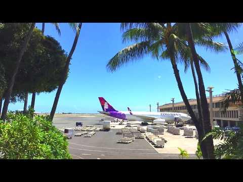 Daniel K. Inouye international airport | Hawaii travel 2017 HD 1080p