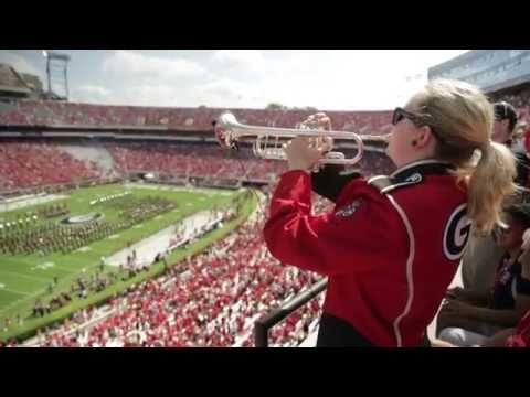 Battle Hymn soloist in Sanford Stadium
