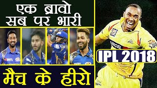 IPL 2018: CSK vs Mumbai 5 Heroes of match , Dwa...