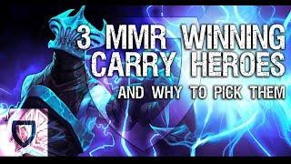 The Carry Meta: 3 Top Tier Heroes to Climb MMR | How To Play Dota 2 | PVGNA.com